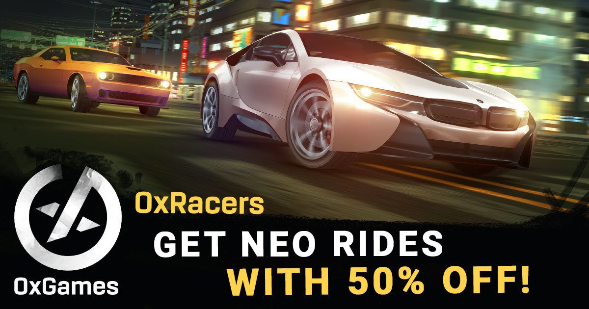 0xRacers (NEO) - Tune your ride up and win racing events!