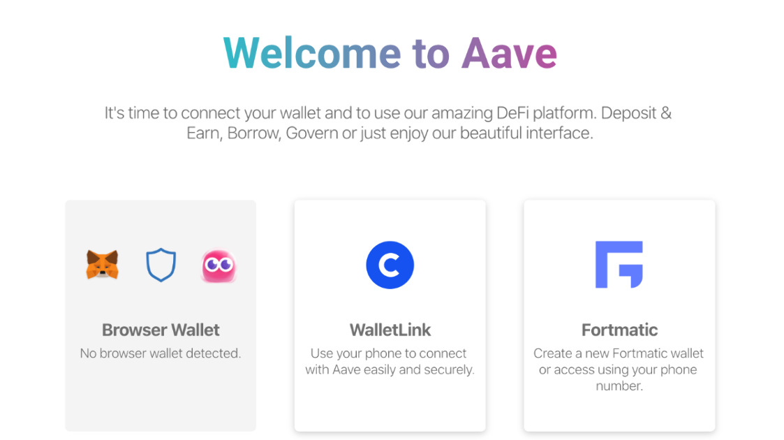 Aave Protocol - Deposit. Earn. Control. Innovate.