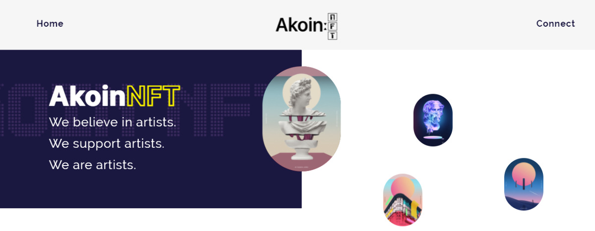 AkoinNFT - NFT marketplace for exclusive & curated drops