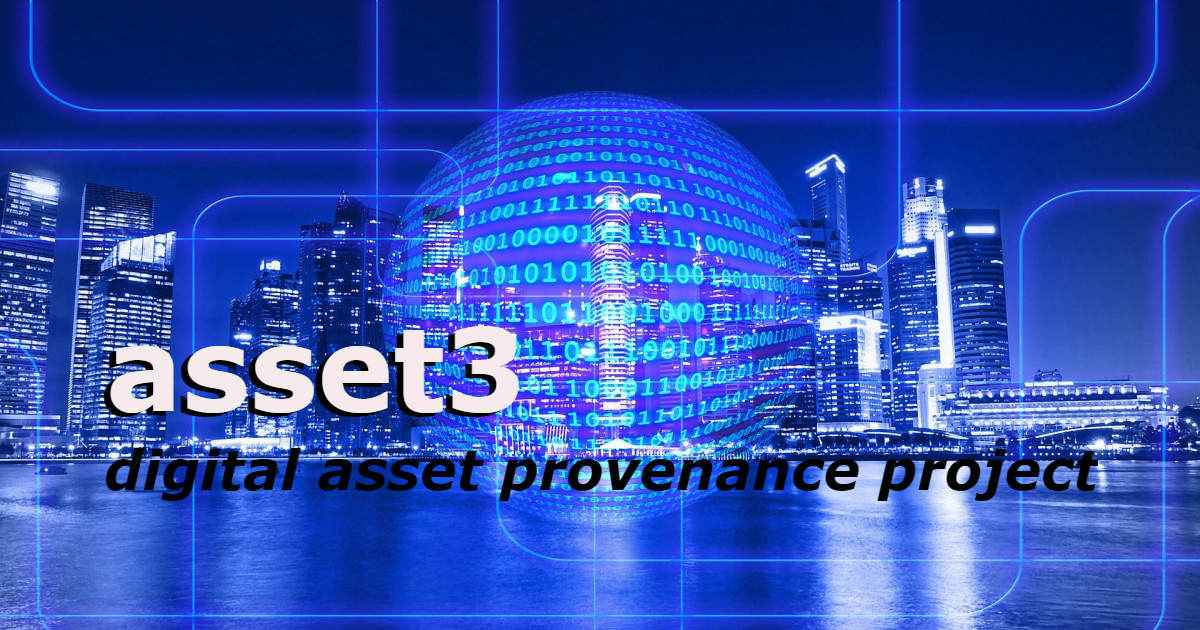 asset3 - Digital asset provenance