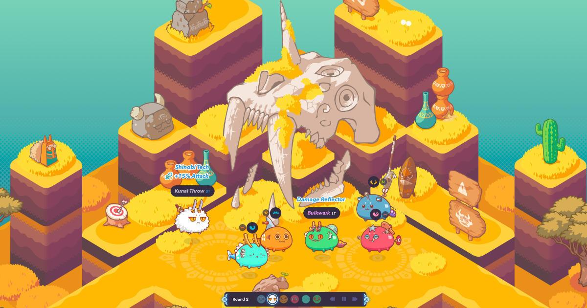 Axie Infinity - Collect and raise fantasy creatures
