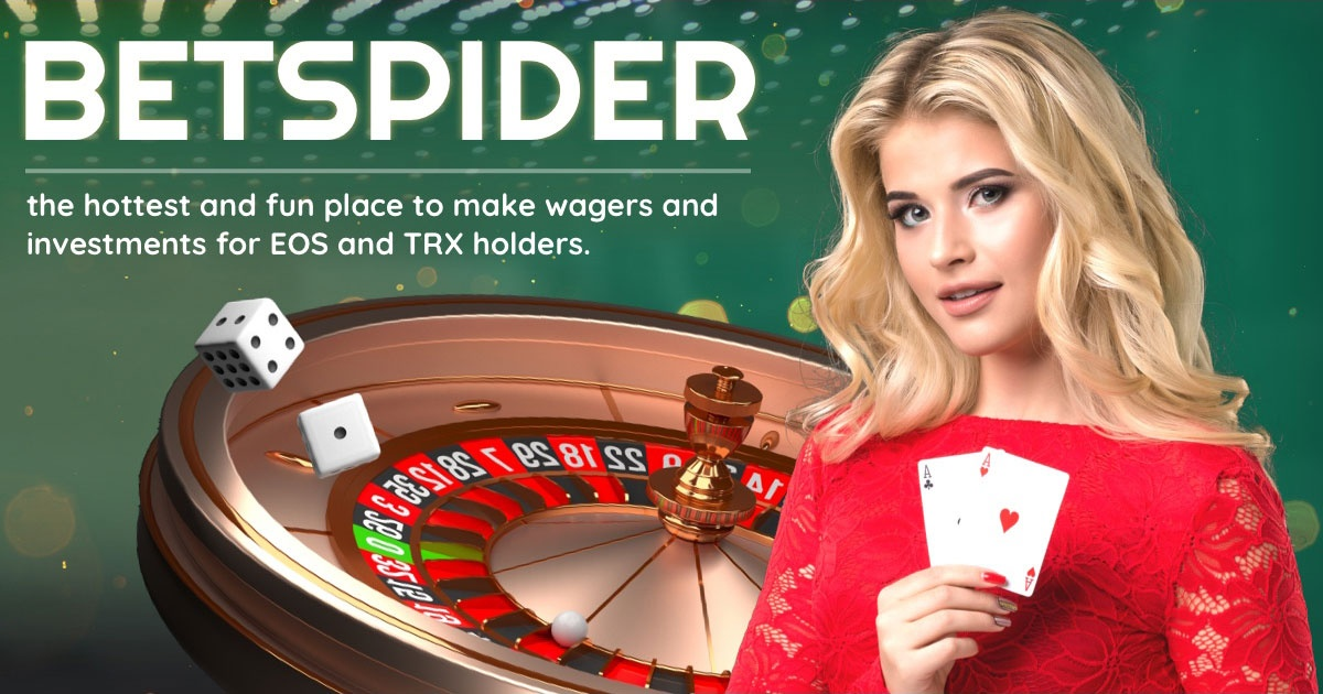 BetSpider - Online gambling site for EOS and TRX holders
