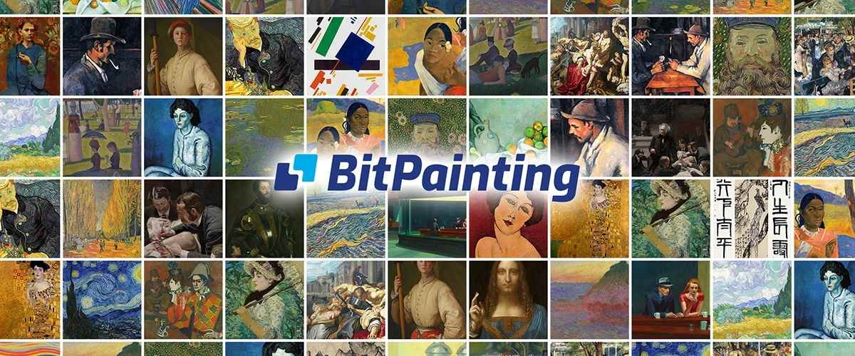 BitPainting - Collect iconic artwork