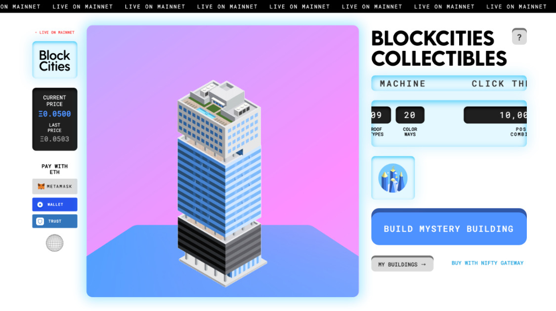 BlockCities - Collectible Architecture