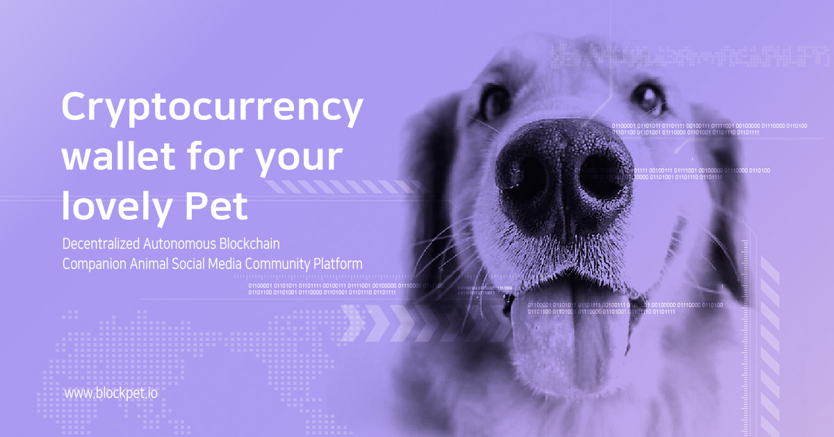 BlockPet - Community Platform for Owners & their Pets