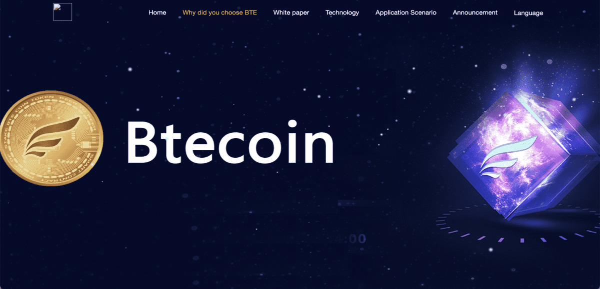 BTEcoin - BTE we aims to provide customized payment services