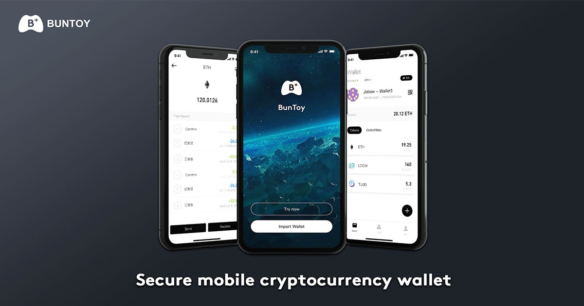 Buntoy Wallet - Fast and secure game wallet