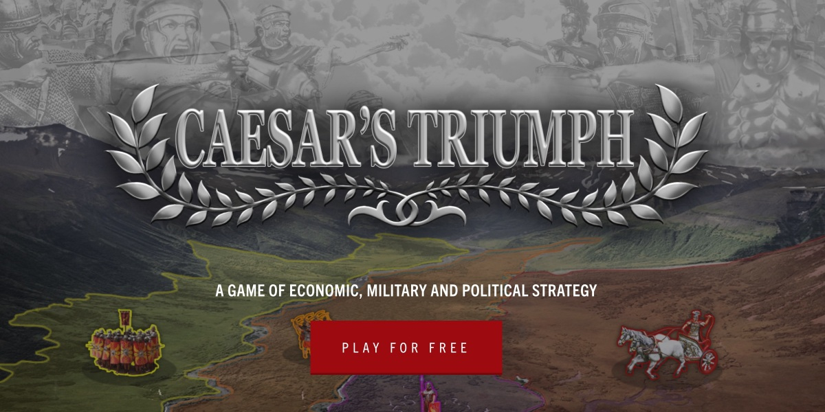 Caesar's Triumph - Game of economic, military and political strategy