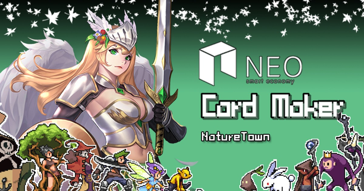 CardMaker : NatureTown - An interesting indie game with  UGC gameplay, Rogu