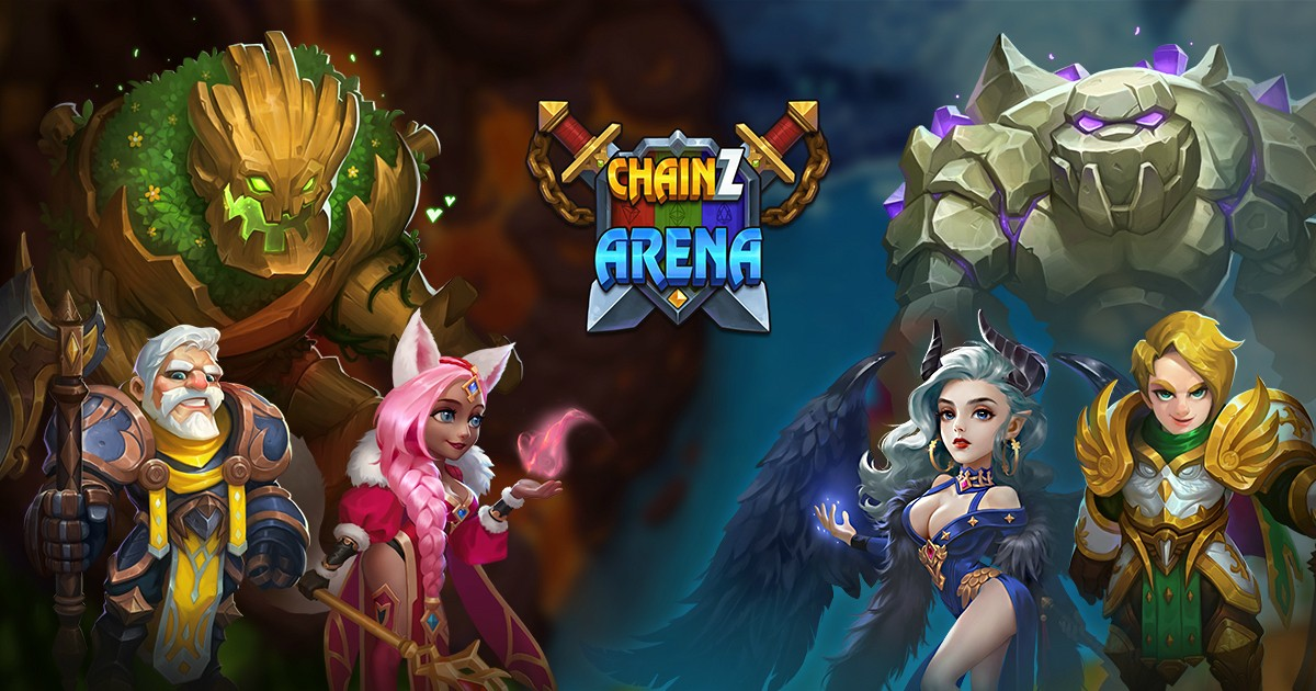 ChainZ Arena(EOS) - One of the most popular RPG game in the world!