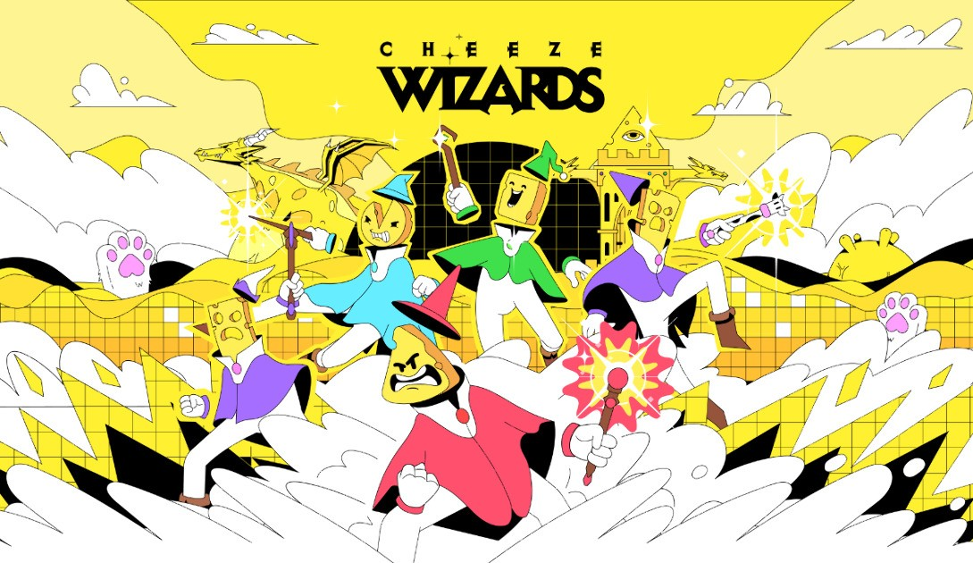Cheeze Wizards - A battle royale with cheese