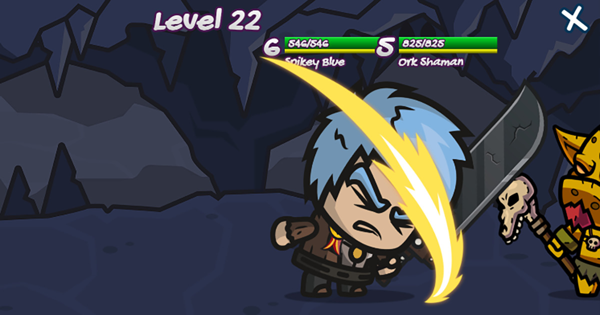 Chibi Fighters - Brutally fun, action-oriented, fighting game.
