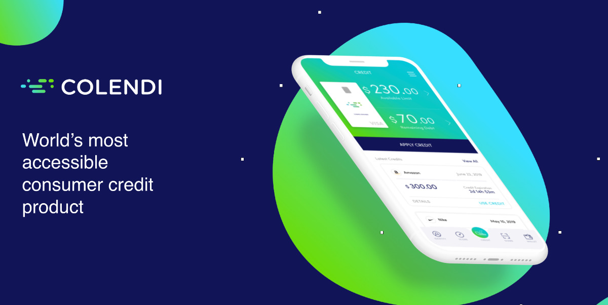 Colendi - World's most accessible consumer credit product