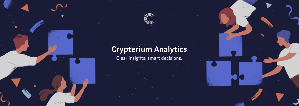 Crypterium - Store, track, send and receive cryptocurrency on the go