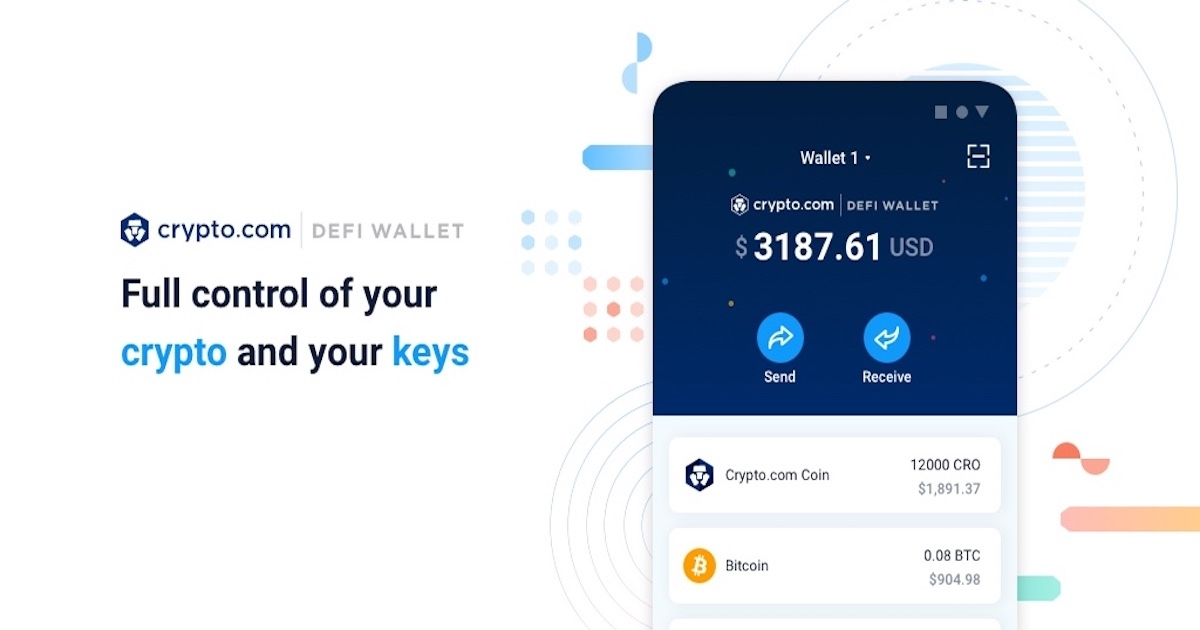 Crypto.com DeFi Wallet - Safely Store and Grow Your Crypto Assets