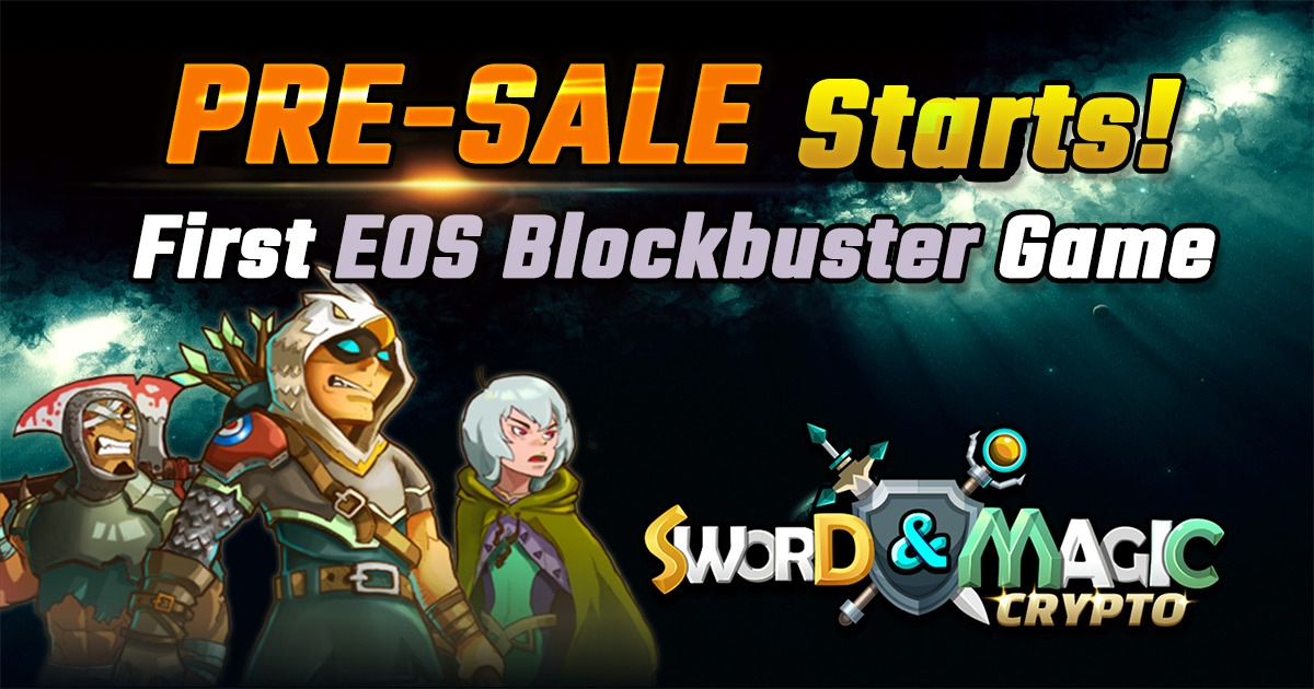 Crypto Sword and Magic - EOS Blockbuster Game