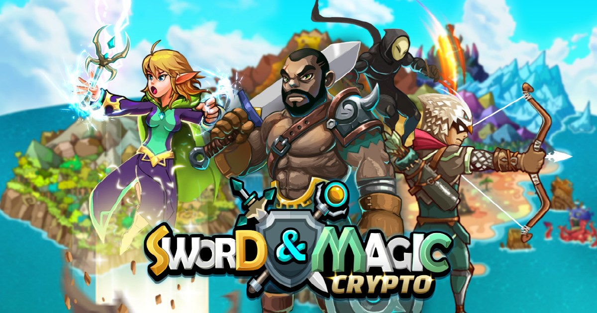 Crypto Sword & Magic - Blockbuster RPG Game on Klaytn