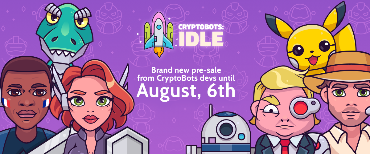 CryptoBots: Idle - Find out whose bot army is the best!