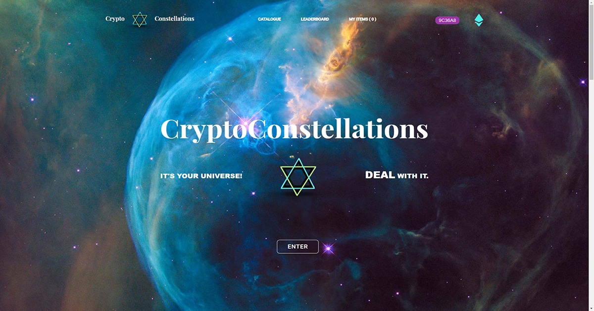 CryptoConstellations - It's Your Universe! Deal With It!