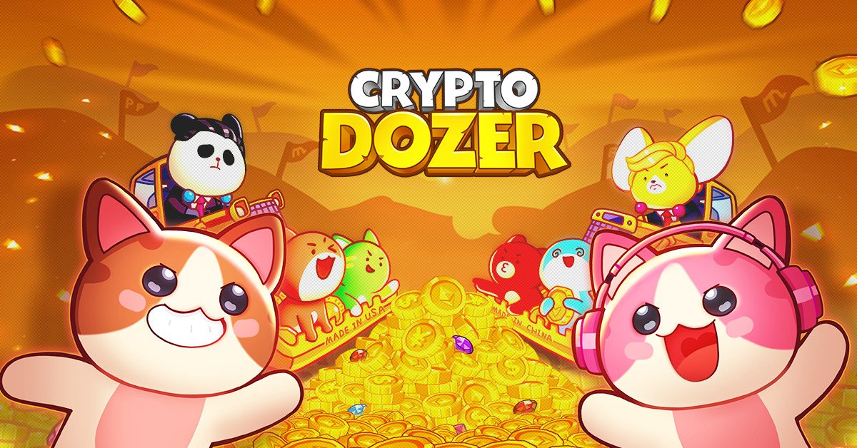 CryptoDozer - Play and get the 70 ETH Doll!