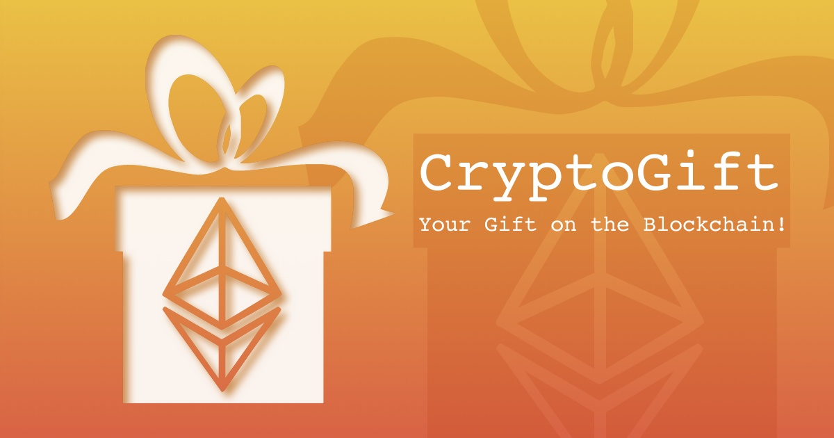 CryptoGift - Make your gift unique