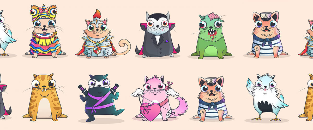 CryptoKitties - Collect and breed digital cats