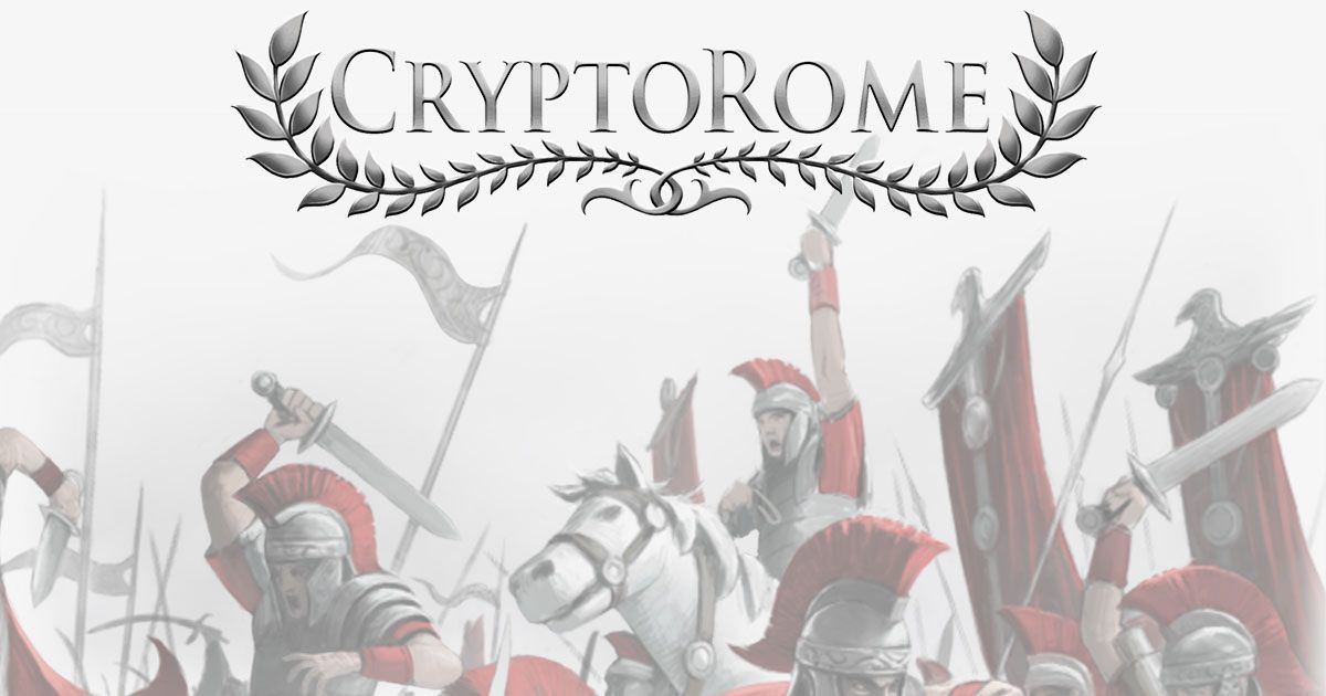 CryptoRome - Conquer Europe and rule Rome