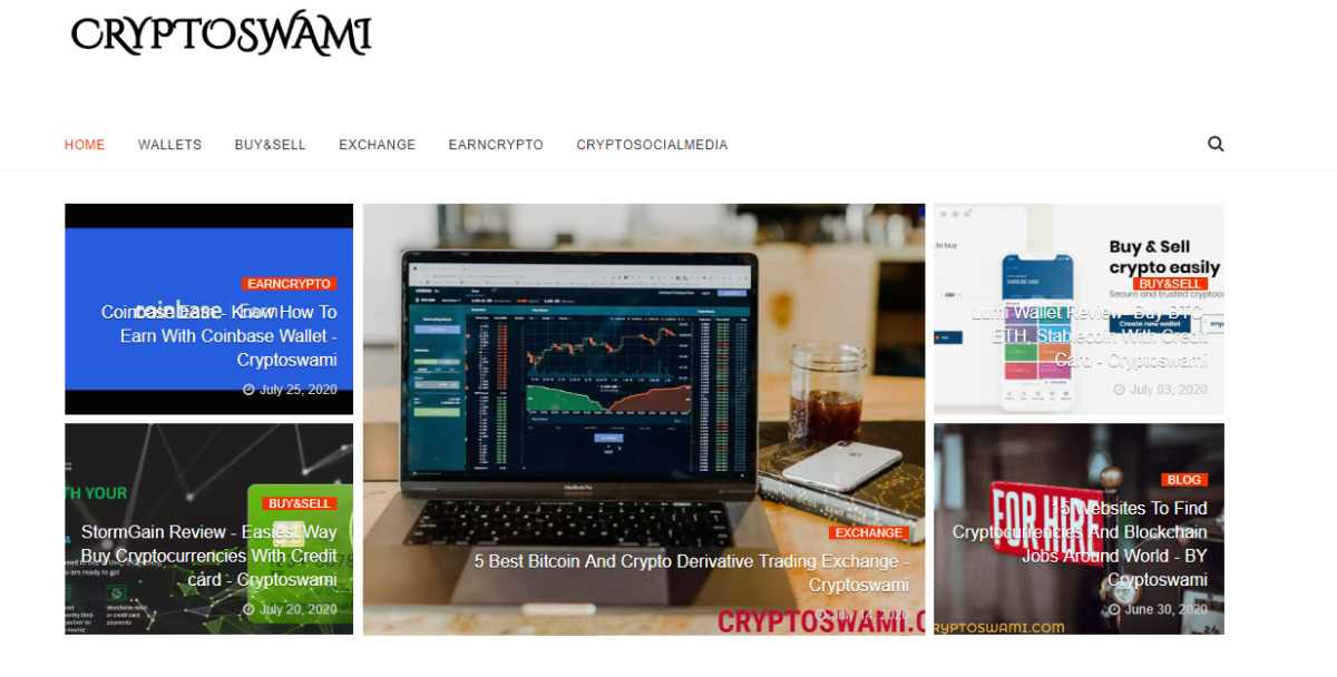 Cryptoswami - A Bitcoin and cryptocurrencies Community guide.