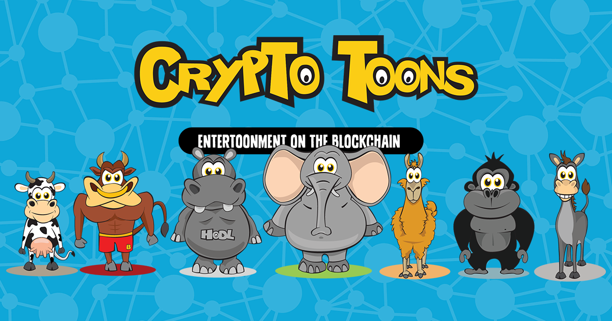 CryptoToons - Digital collectible art