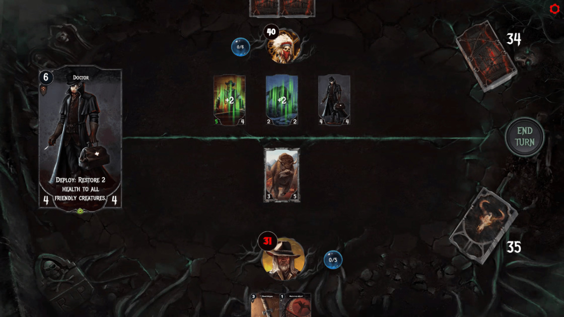 Dark Country card game - Free-to-play multichain NFT card game