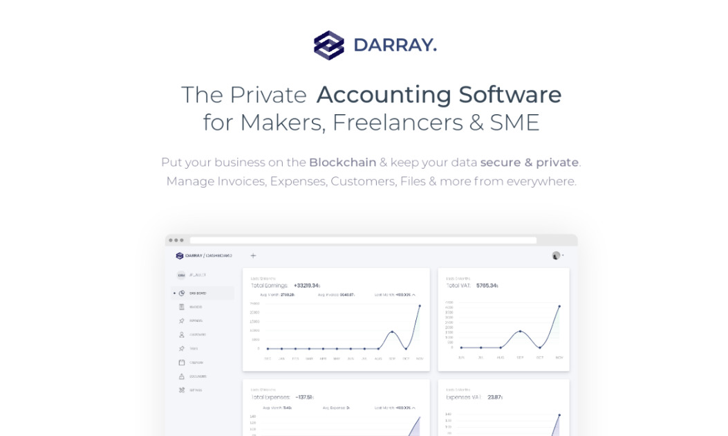 dArray - Private & Secure Accounting for your Business