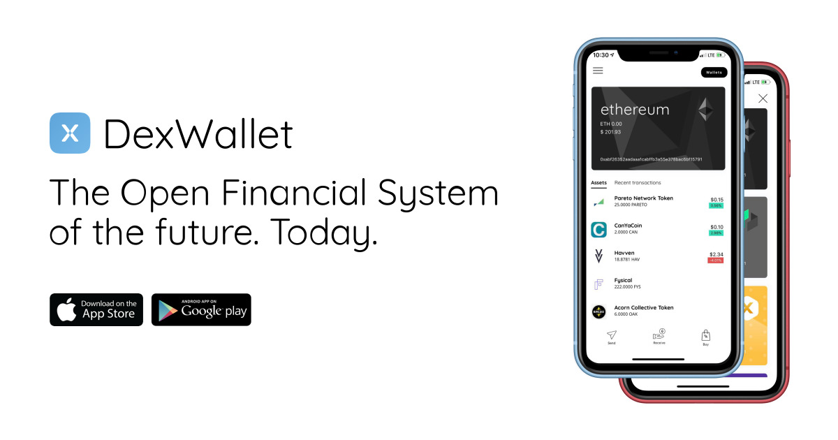 DexWallet - The DeFi wallet for the open financial system