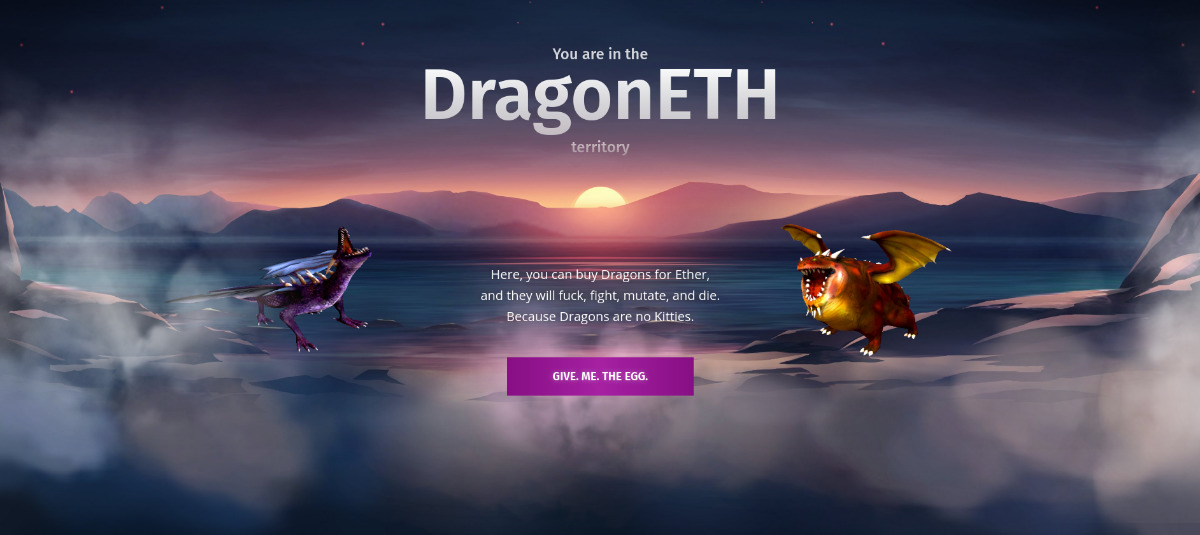 dragoneth - an investment NFT game.