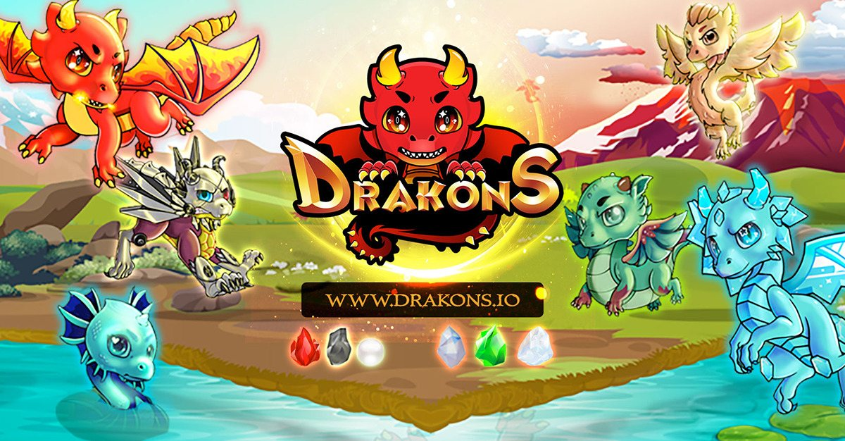 Drakons - Drakons World, where Dragons come alive!