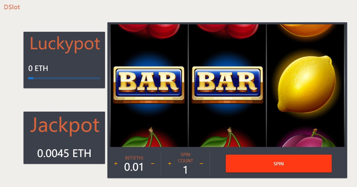 DSlot - A fun and fair slot game