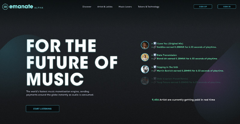 Emanate - Technology for the future of music