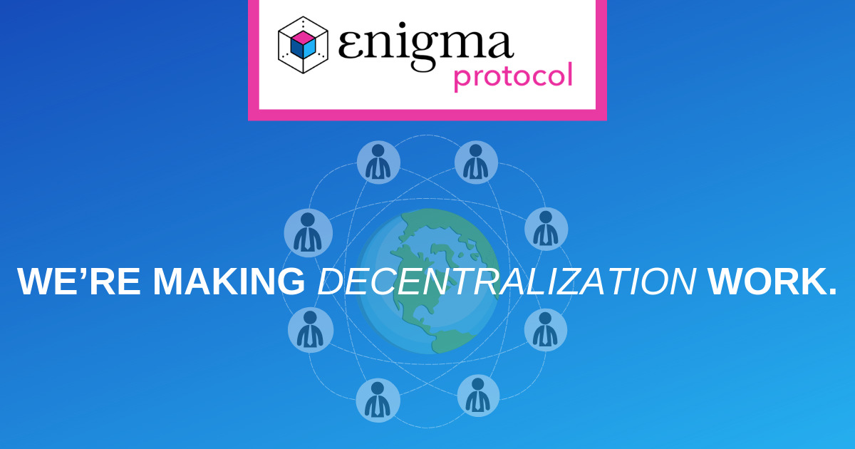 Enigma - Privacy protocol layer