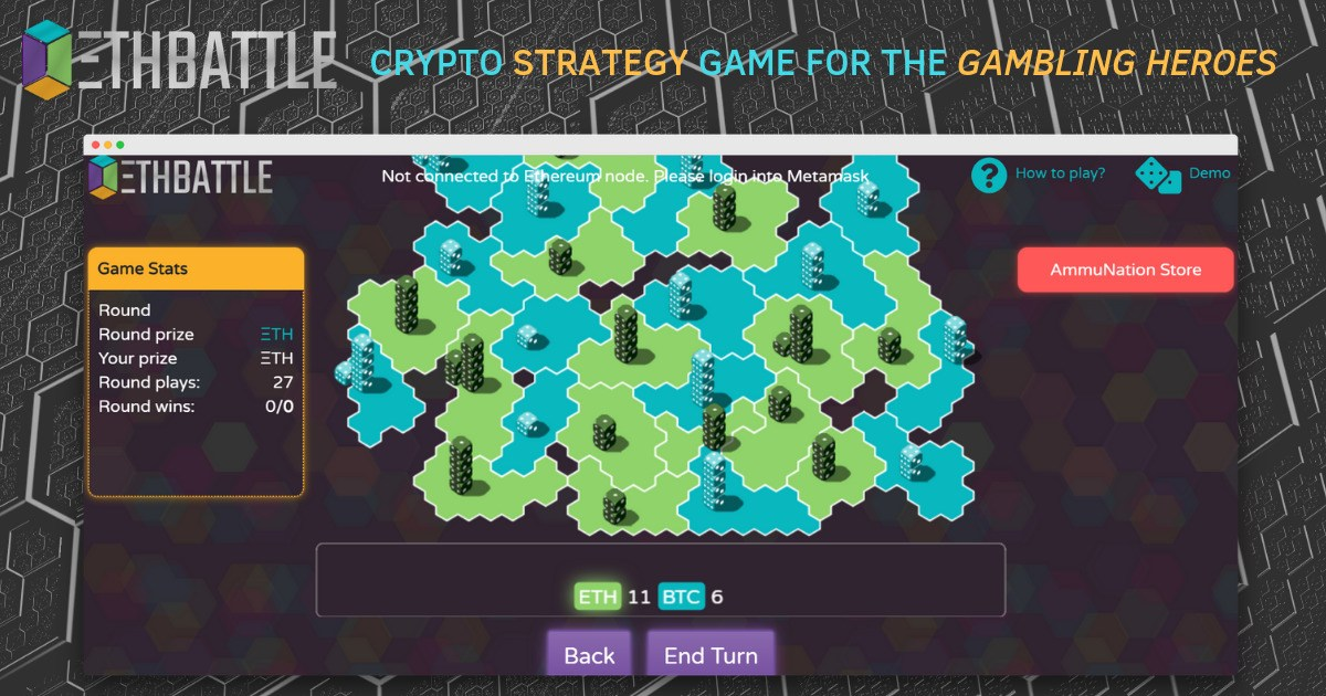 EthBattle - Crypto strategy for the gambling heroes