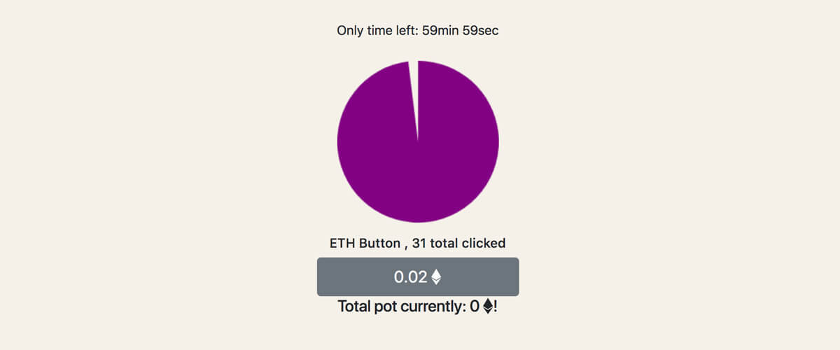 ETHButton - The button experiment game
