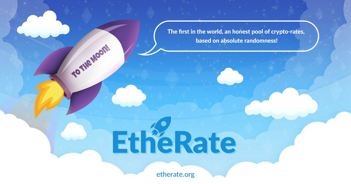 EtheRate - Random reward pool