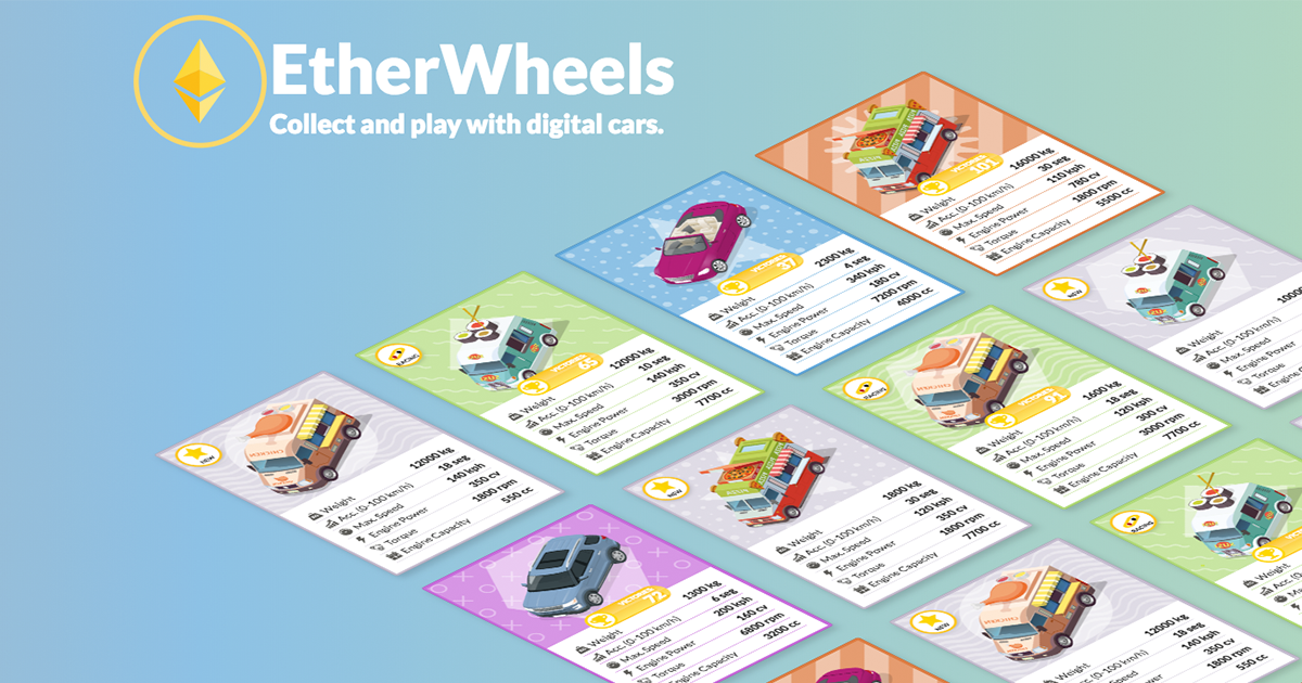 EtherWheels - Collect and play with cars