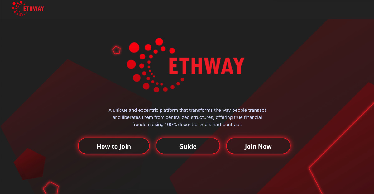 EthWay - MADE BY THE PEOPE FOR THE PEOPLE