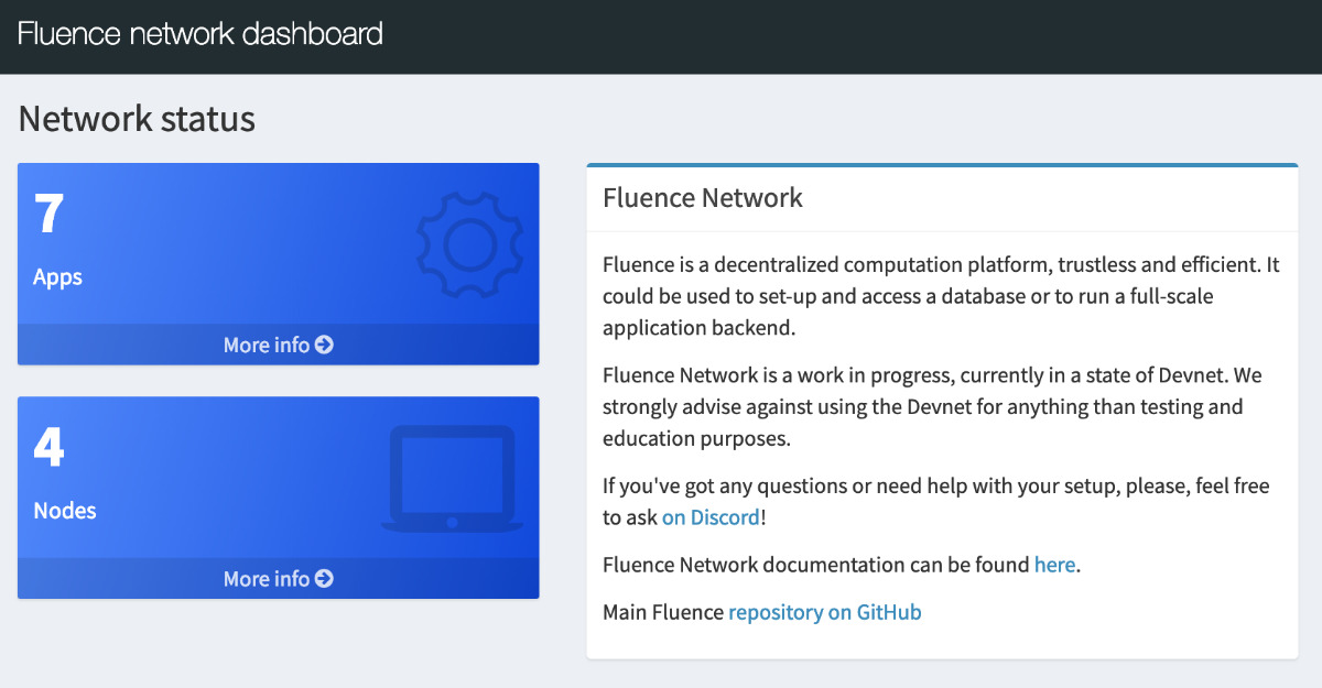 Fluence Network - Manage your data in a decentralized enviroment