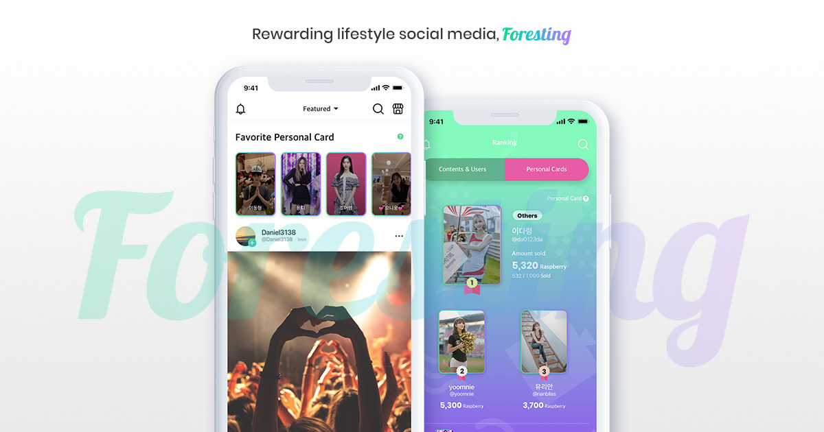 Foresting - Rewarding Lifestyle Social Media