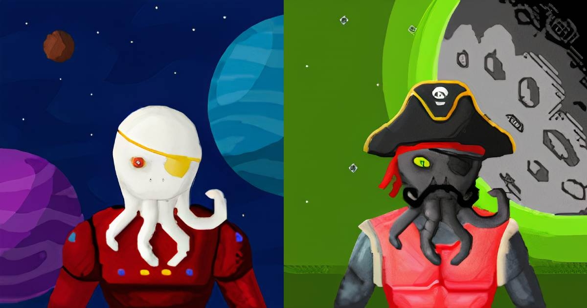 Galactic Noobs - Galactic Noobs are collectible pieces of generated alien art.