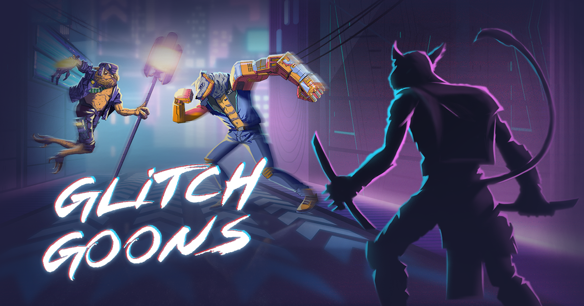Glitch Goons - Free-to-play mobile figthing game