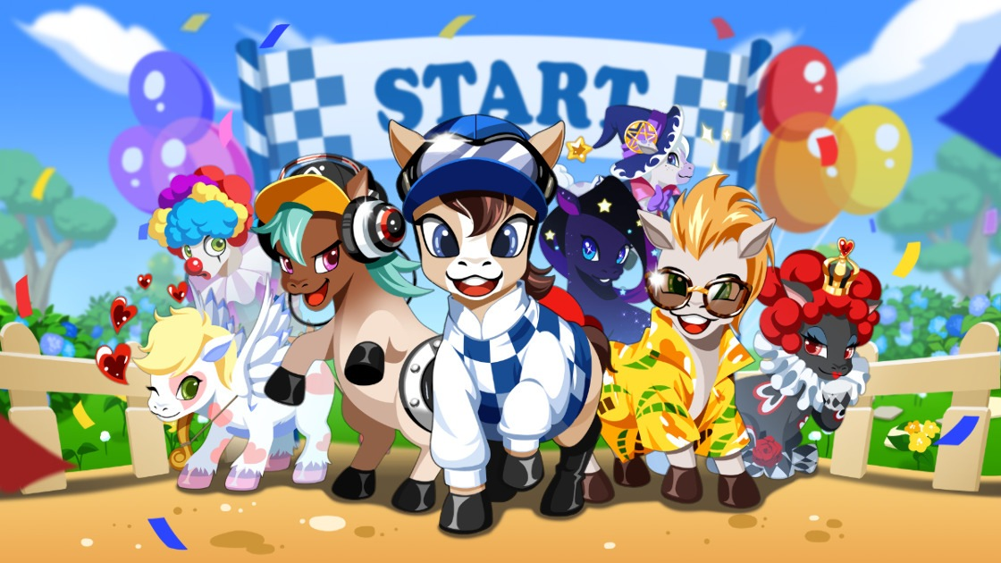 GoPony - Collect, Breed and Race !