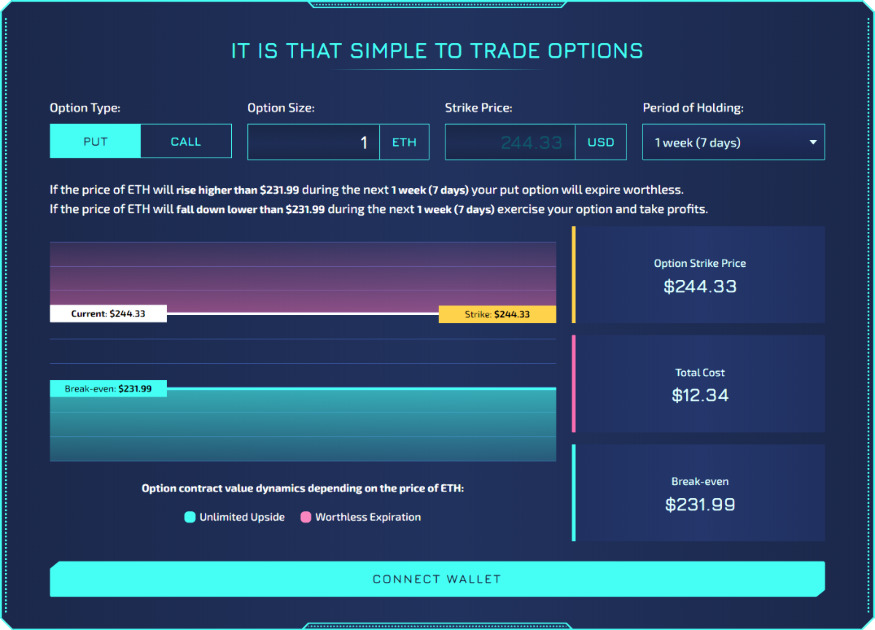 Hegic - On-chain options trading protocol