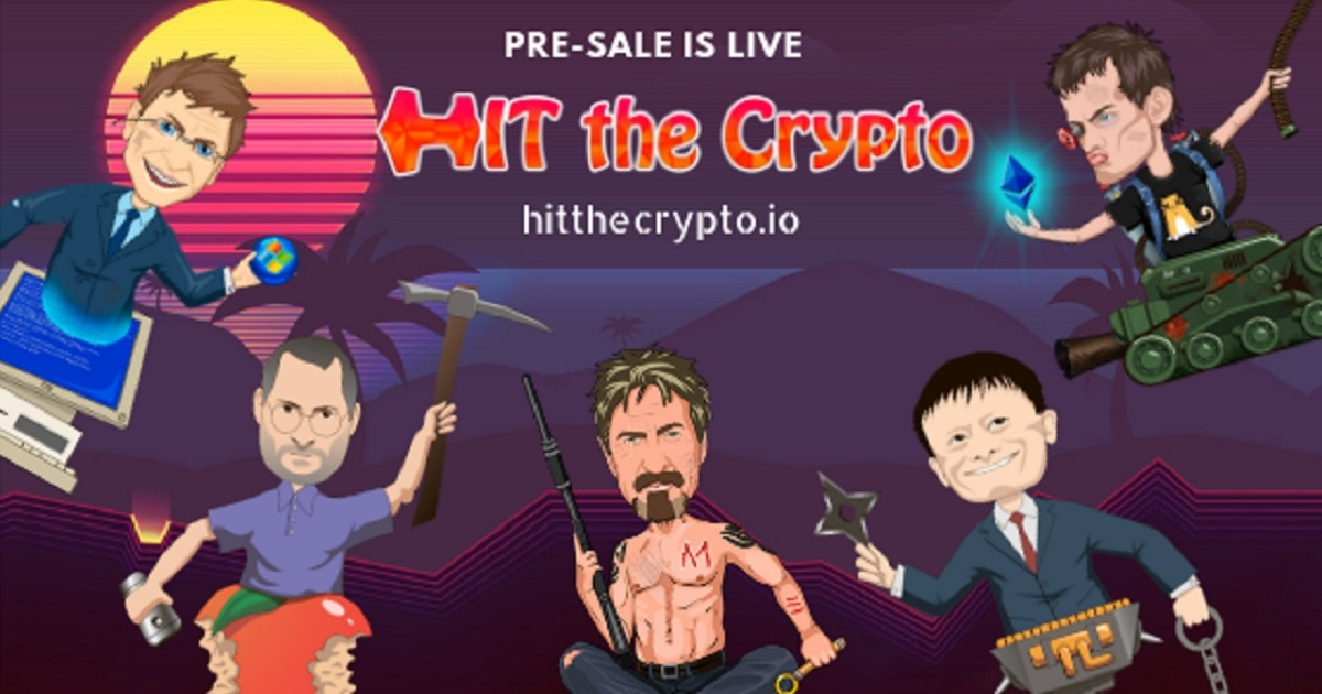 HitTheCrypto - CyberPunk with a bit of fun game