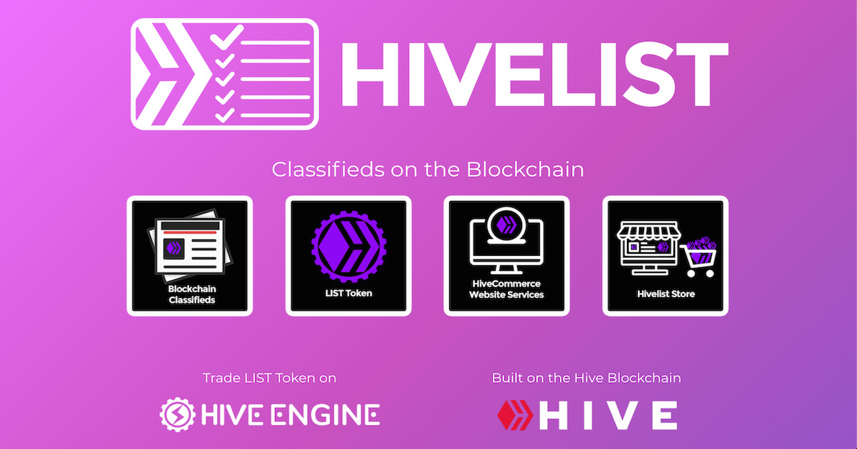 Hivelist - Classifieds, HiveCommerce, and Business Services
